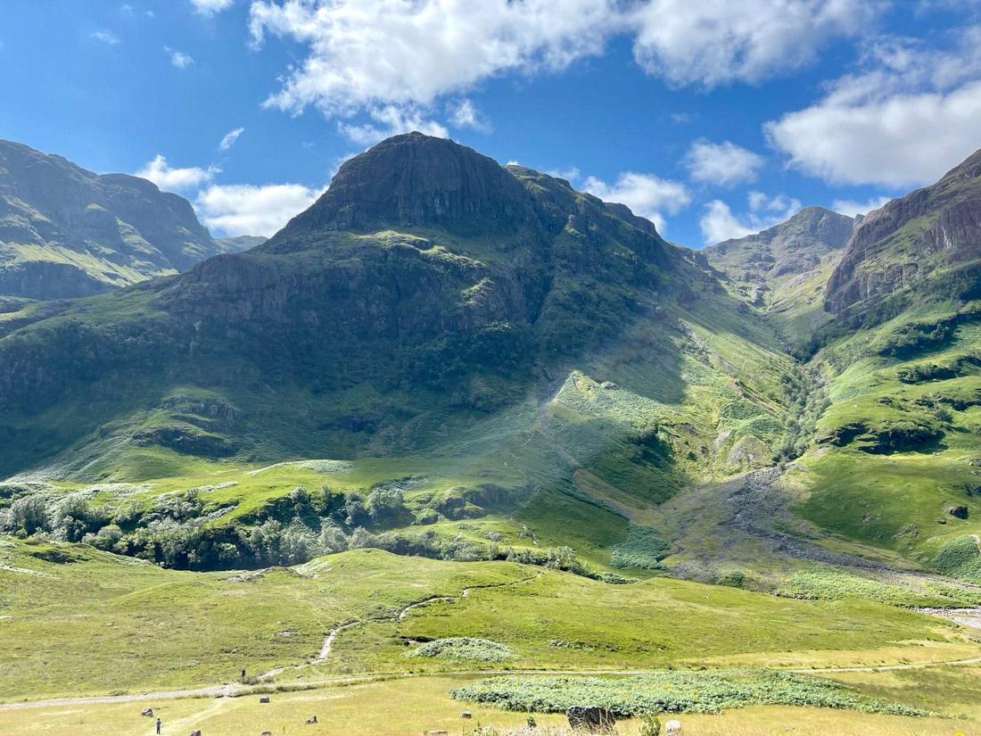 Three Sisters Glencoe Scotland Highlands