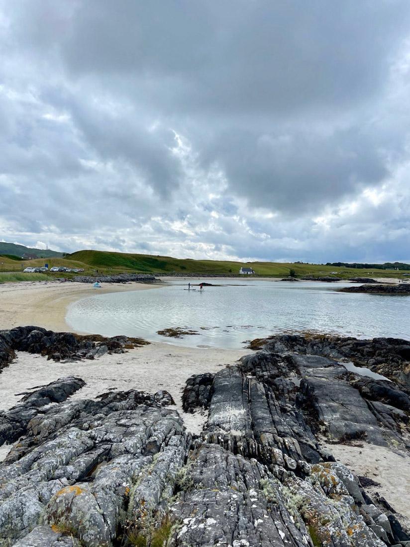Traigh Beach Arisaig Scotland