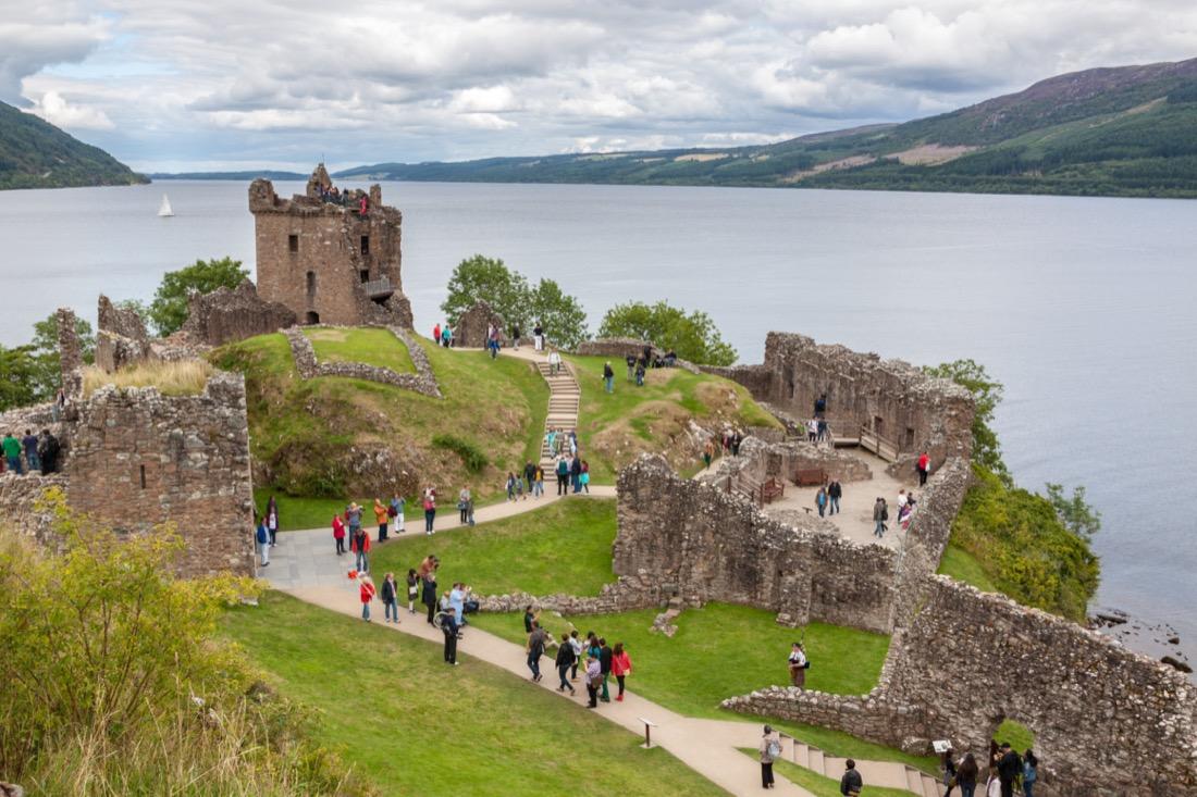Urquhart,Castle,Beside,Loch,Ness,In,Scotland,,Uk.