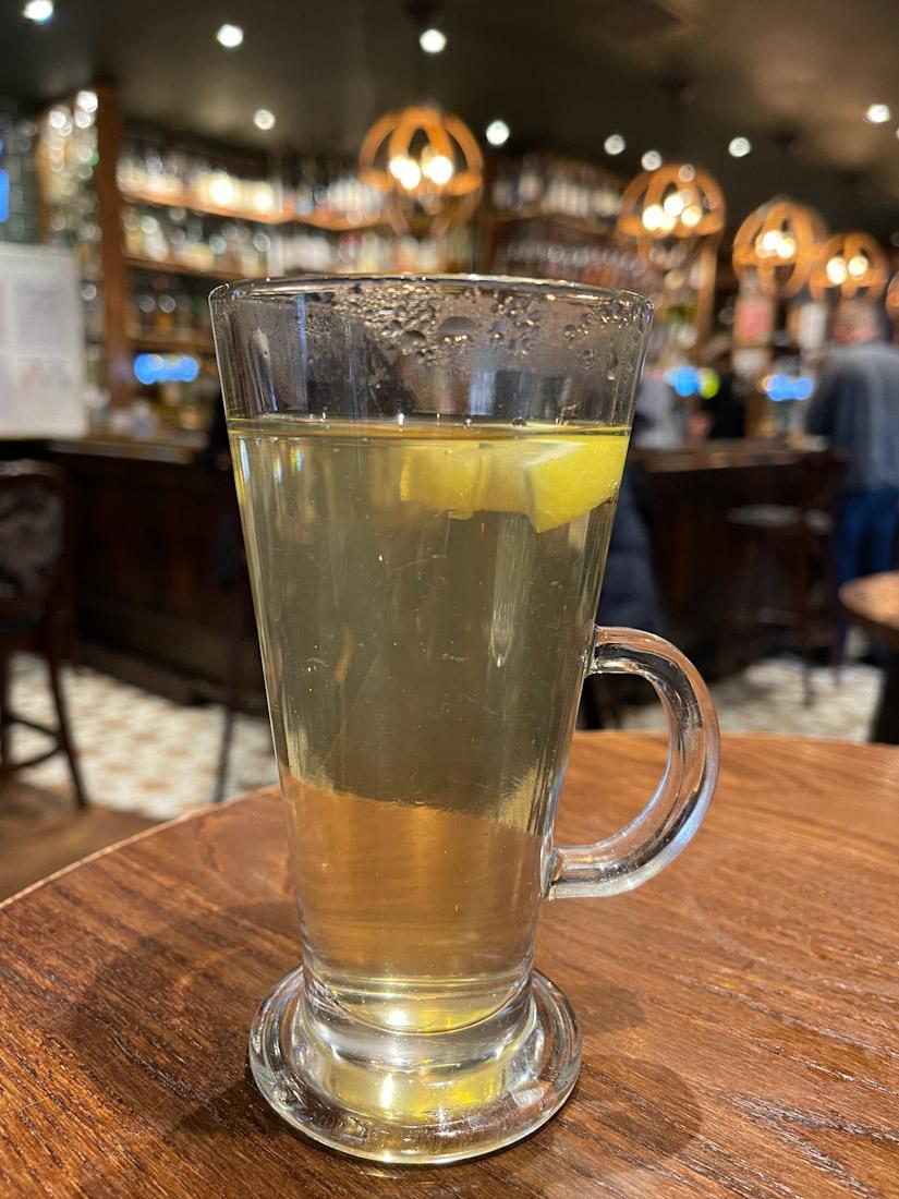 Albanach pub food hot toddy whisky