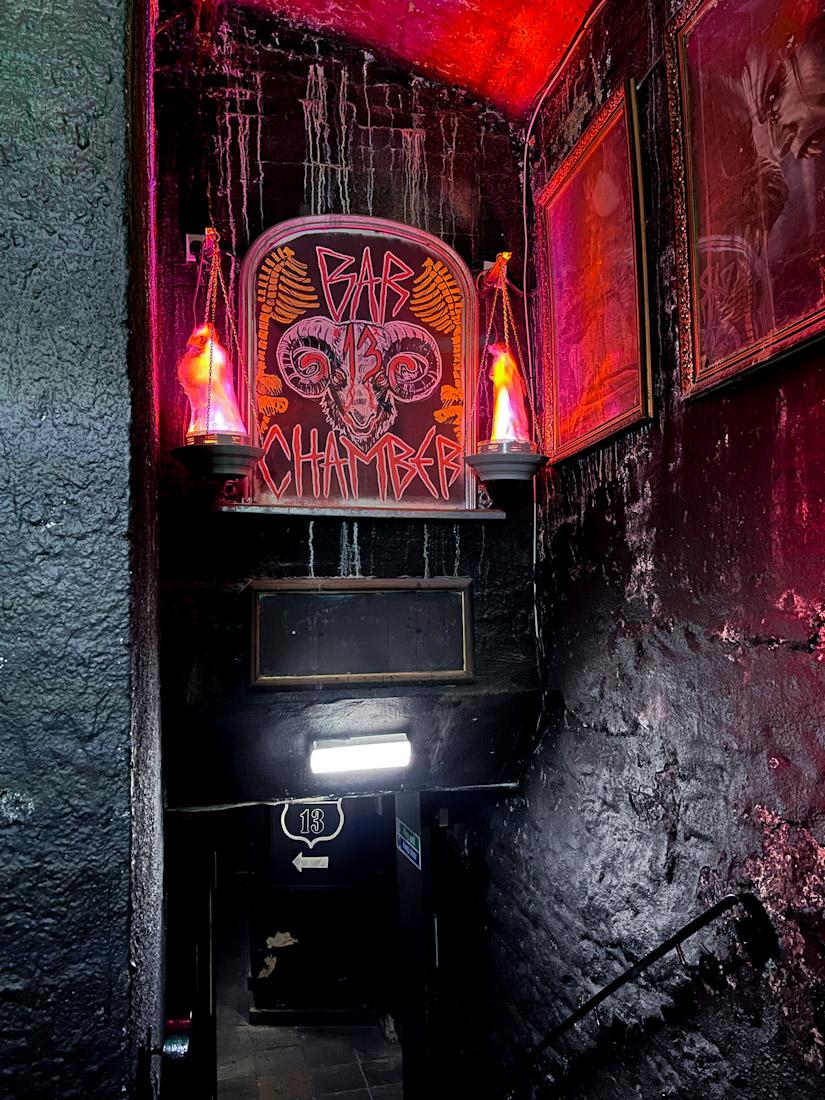 Banshee Labyrinth pub Halloween bar