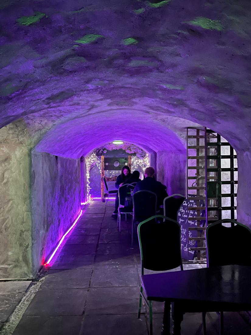 Banshee Labyrinth pub Halloween caves