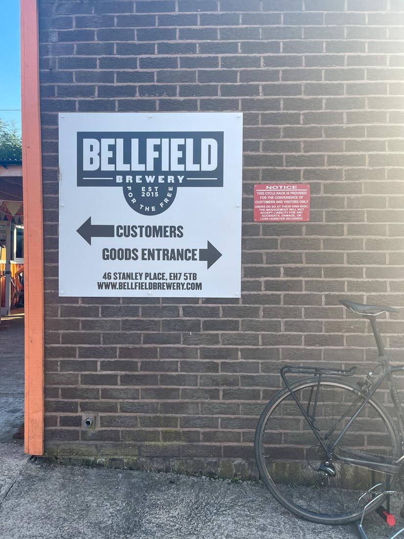 Bellfield pub beer garden