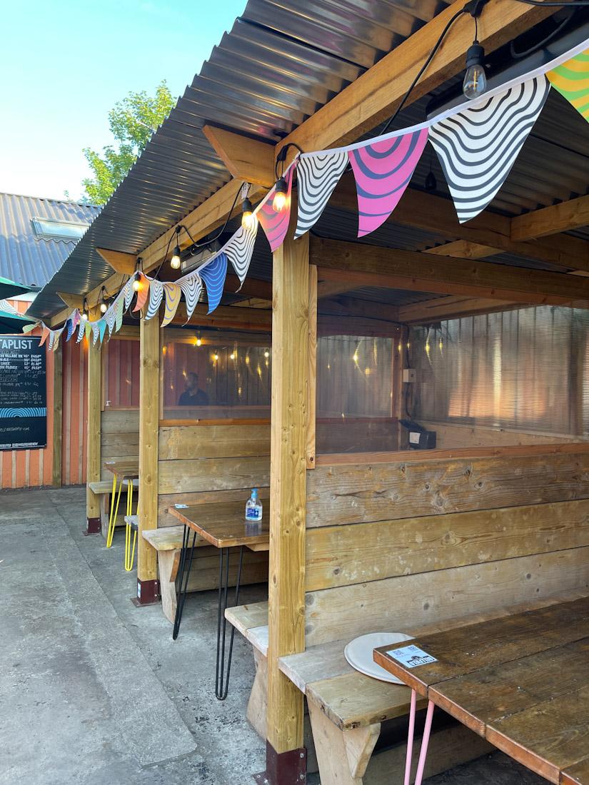 Bellfield beer garden pub