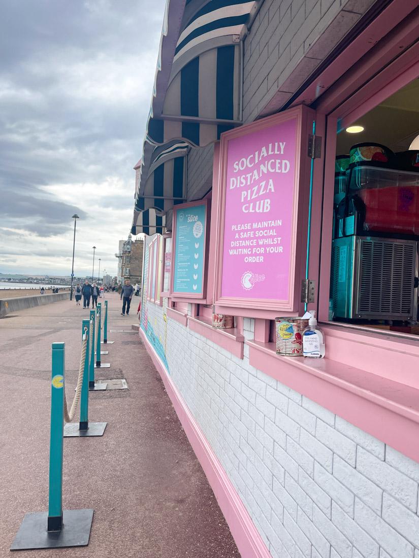 Civerinos Slice Portobello Beach pizza food cafe