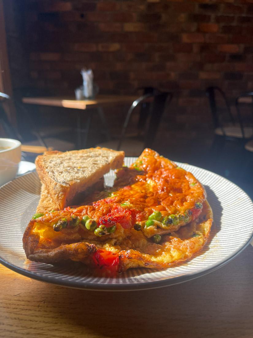 Di Giorgio Caffe brunch breakfast frittata