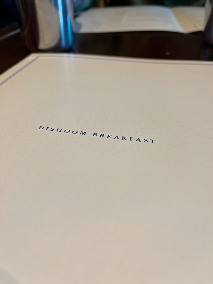 Dishoom menu brunch breakfast food