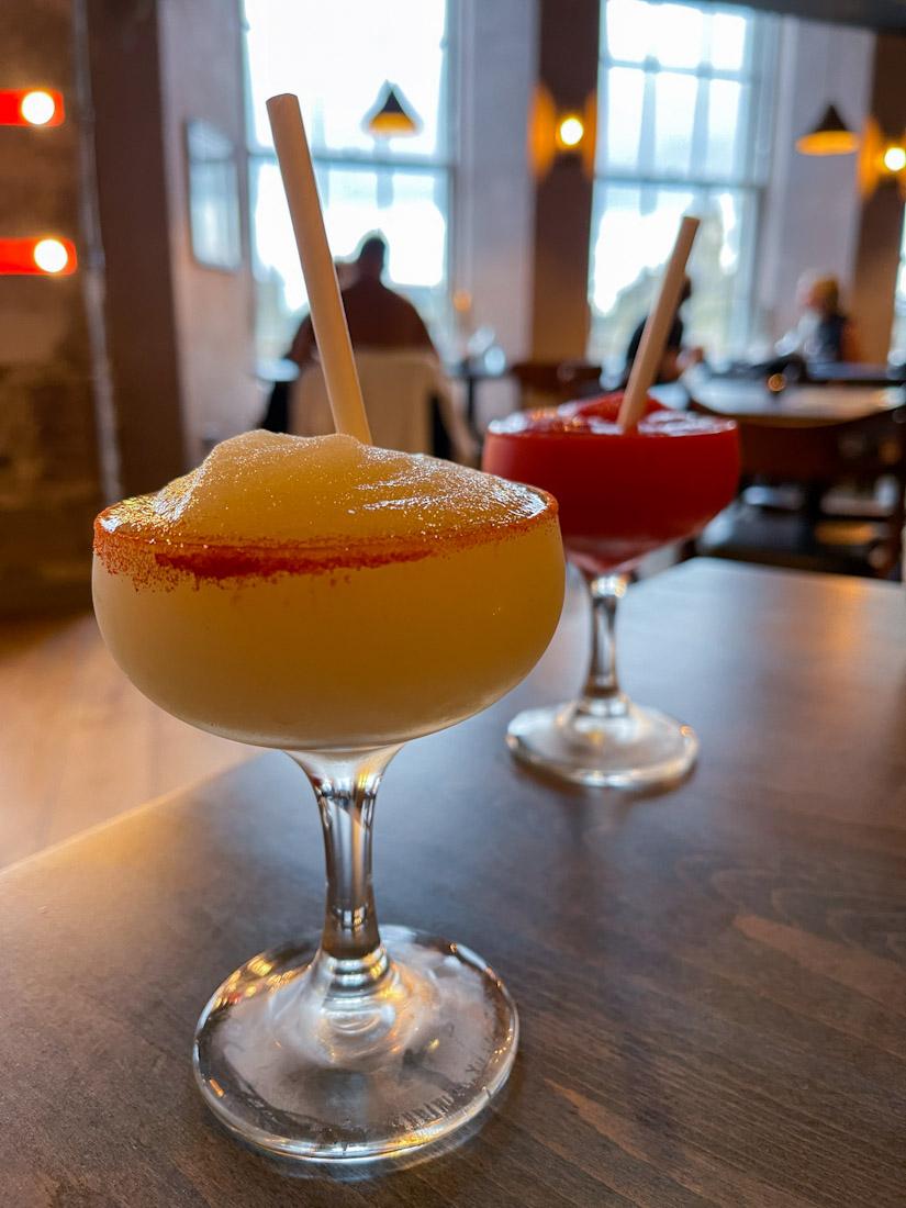 El Cartel Mexican food cocktails margarita
