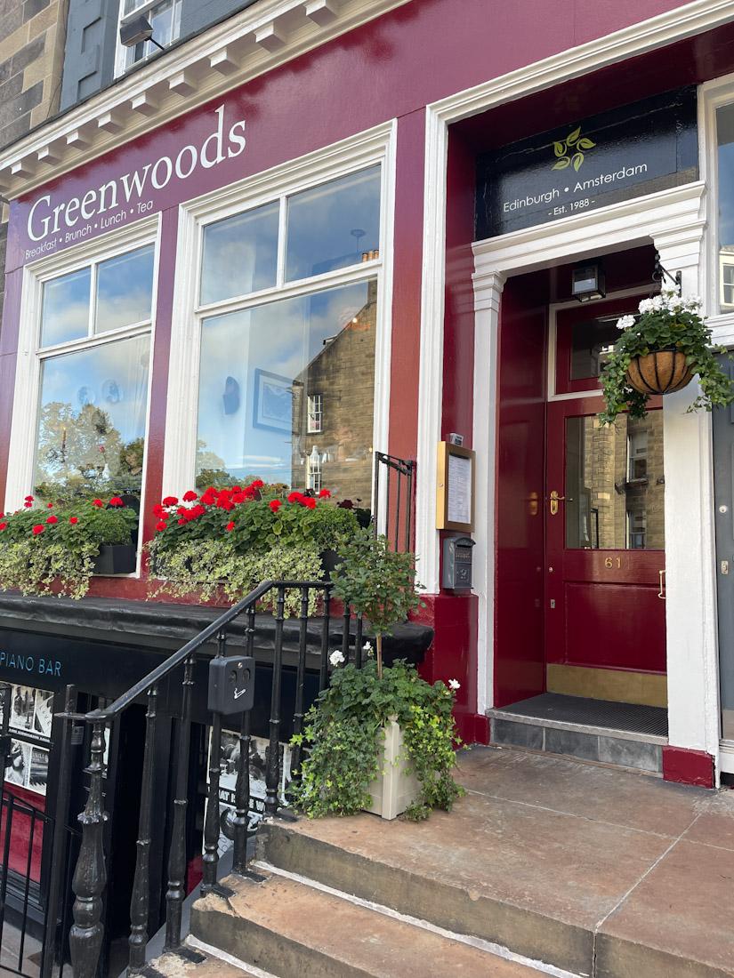 Greenwoods food brunch
