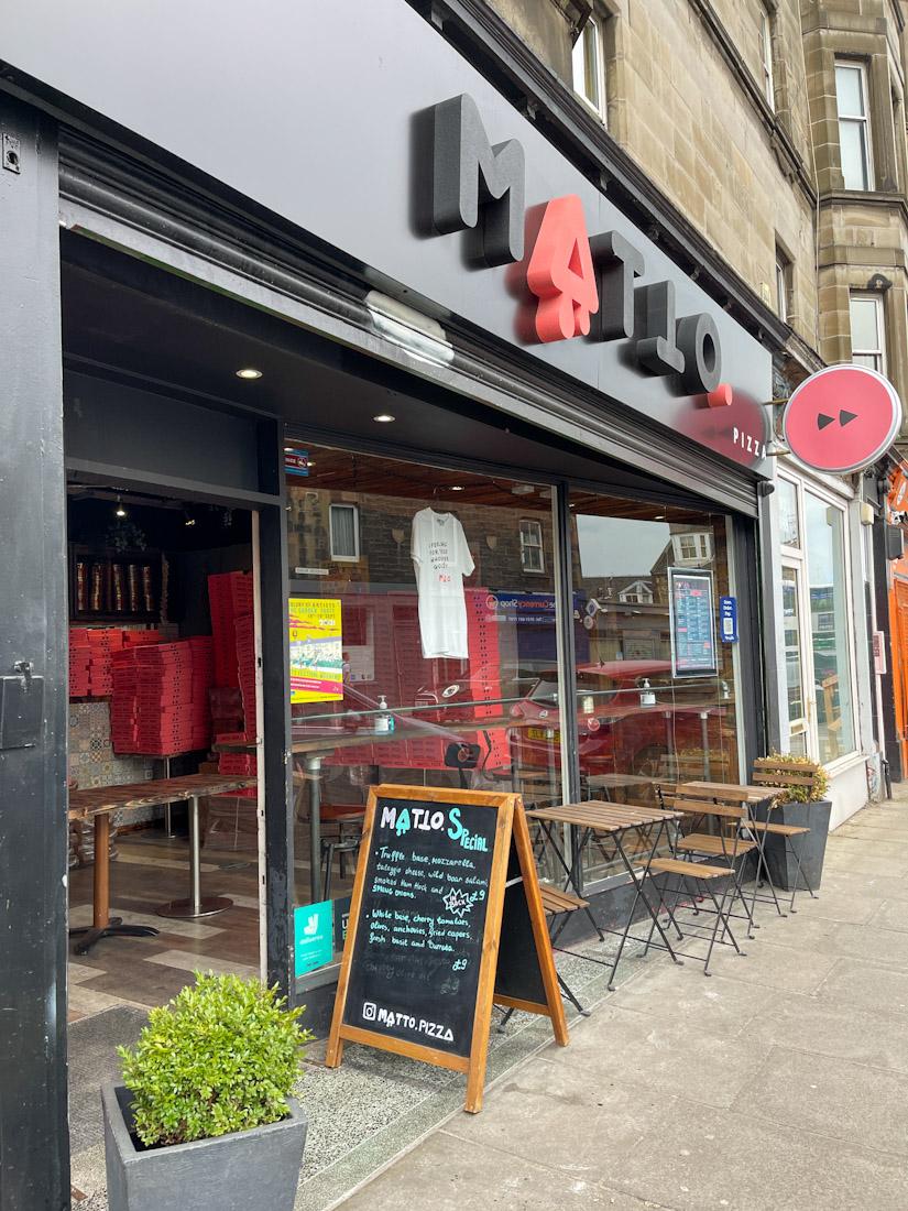 Matto Pizza Edinburgh
