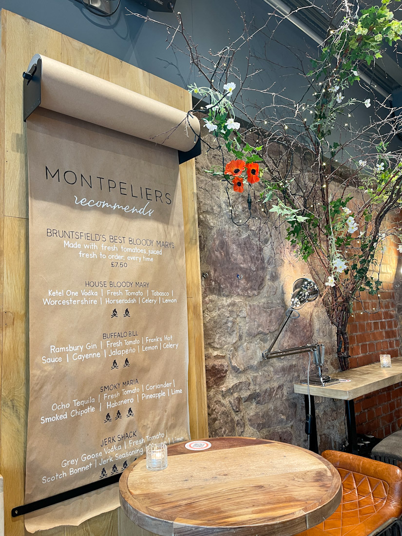 Montpeliers Bruntsfield food pub.