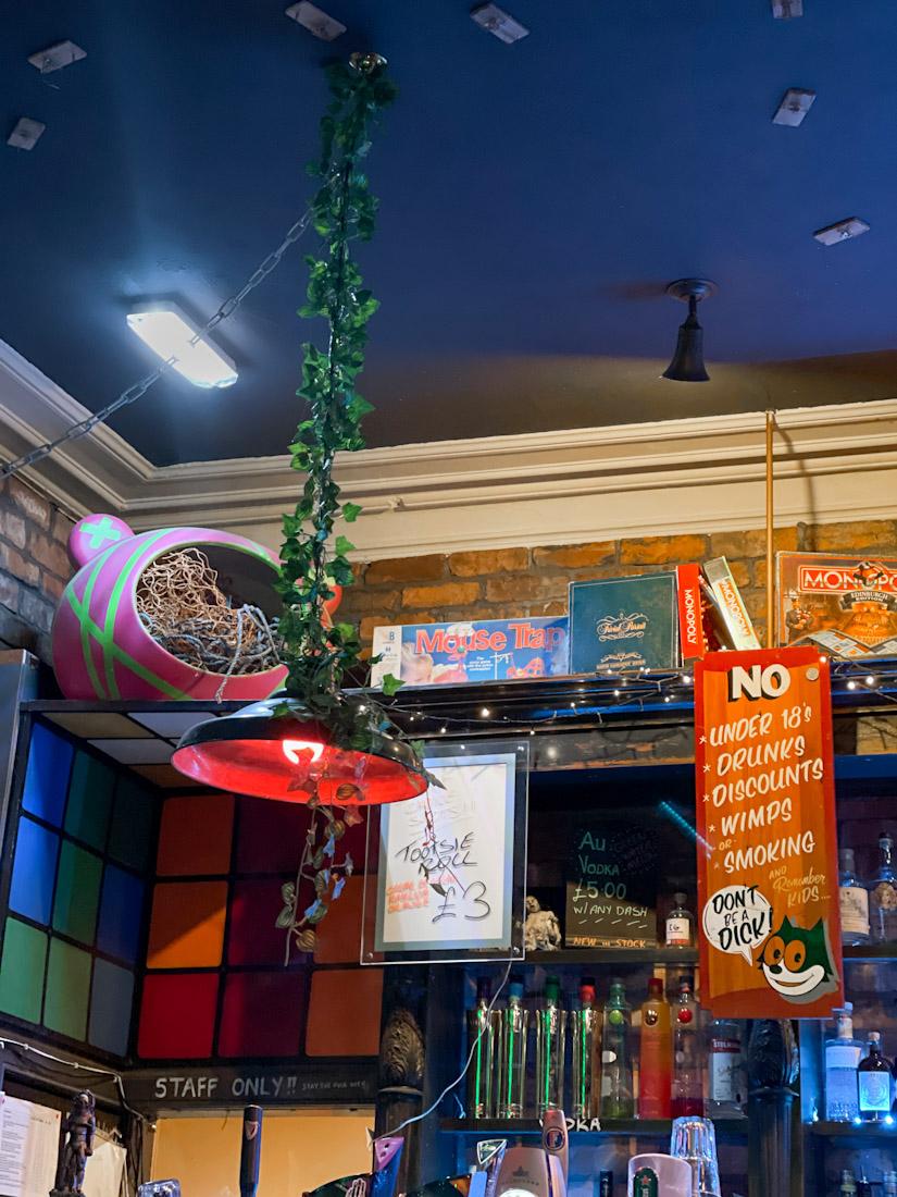 Mousetrap pub Leith games