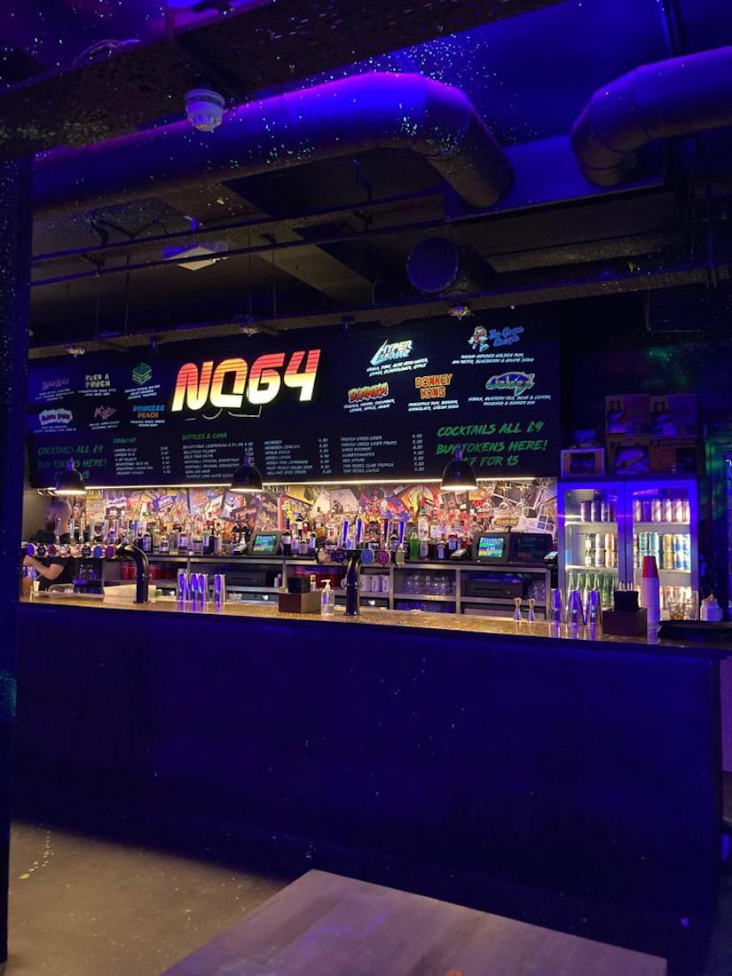 NQ64 games bar