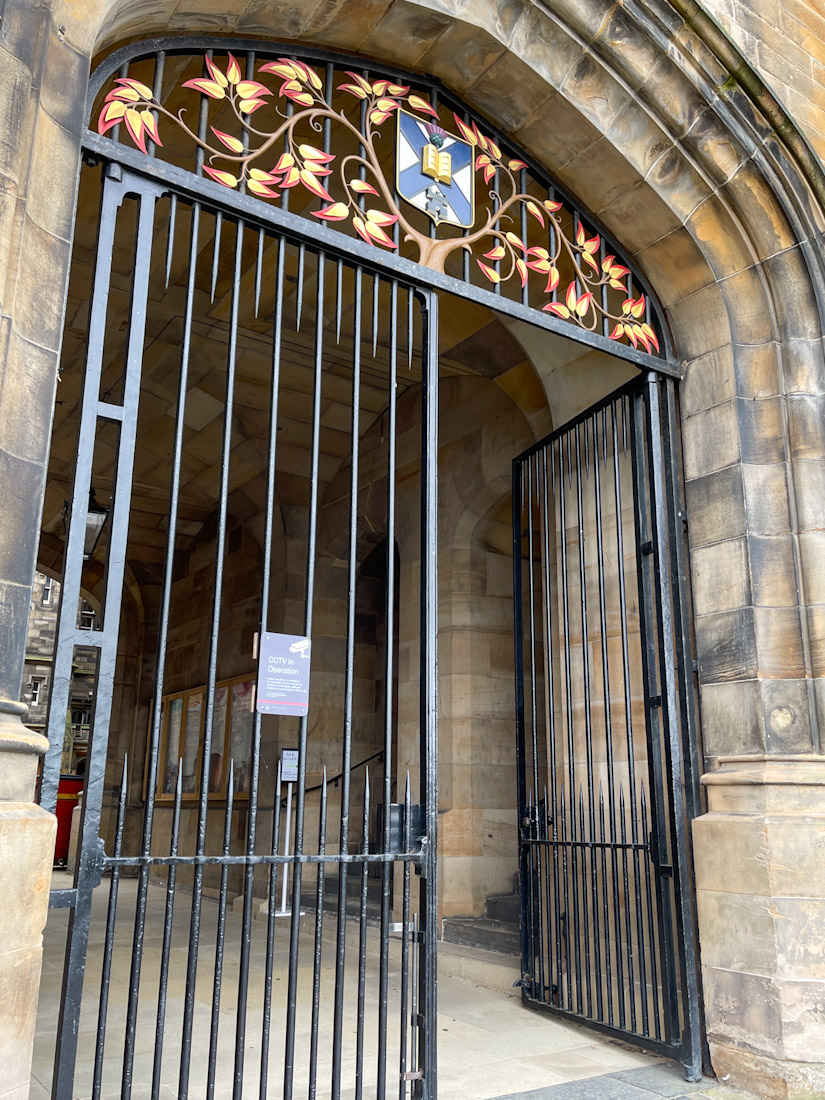 New College Harry Potter gates