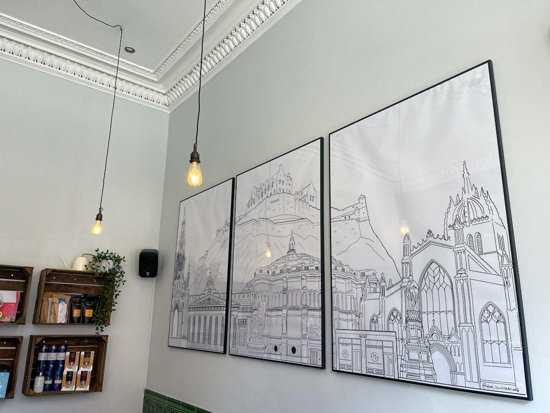 Salt Cafe Morningside brunch Edinburgh picture