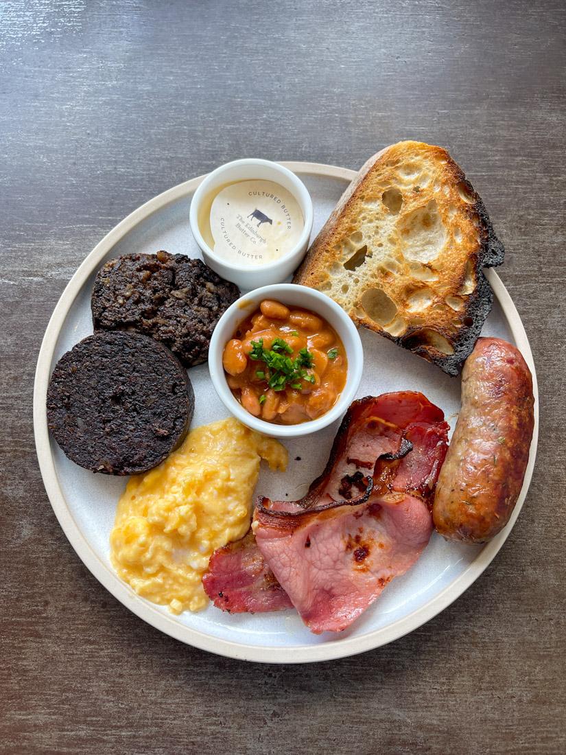 Salt Cafe Morningside brunch butcher breakfast plate