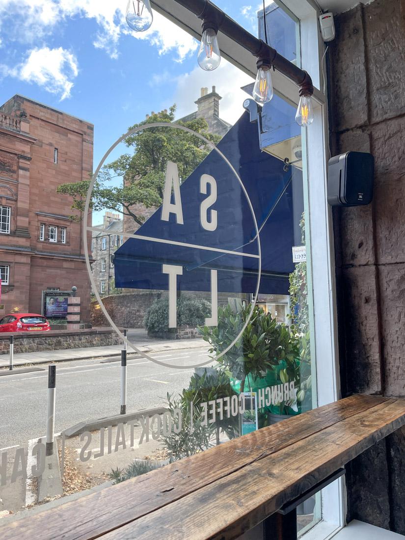 Salt Cafe Morningside brunch window