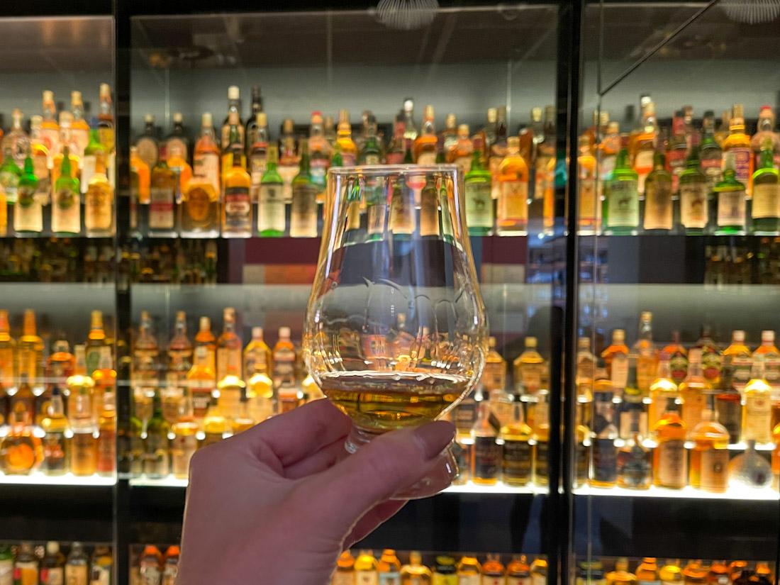 Scotch Whisky Experience tour dram whisky
