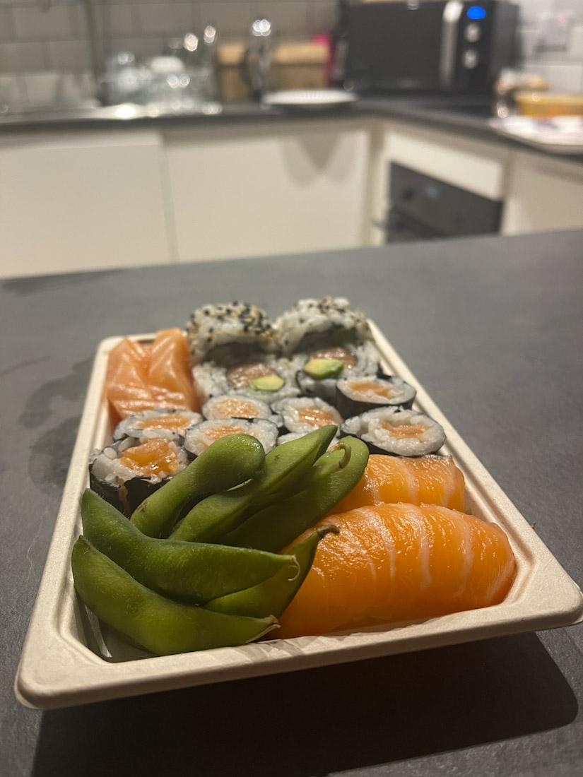 Take out Soul Sushi food