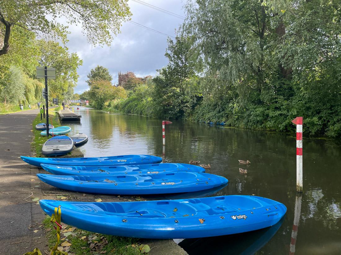 Union Canal kayaks