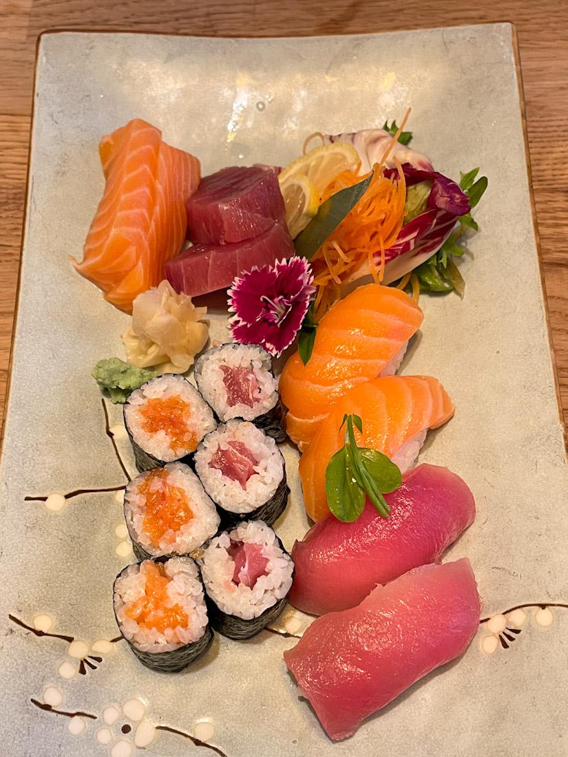 Hakataya Japanese restaurant Rose St sushi sashimi