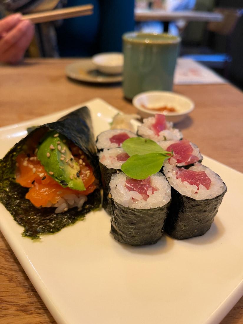 Hakataya Japanese restaurant Rose St sushi