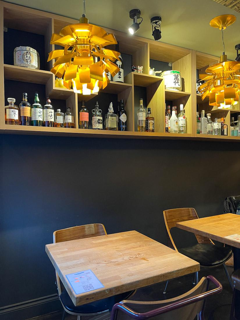 Hakataya Japanese restaurant near Rose St